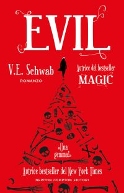 Risultati immagini per Evil Autore: V.E. Schwab