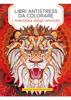 Libri antistress da colorare. I mandala degli animali