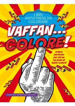 Libri antistress da colorare. Vaffan... colore!