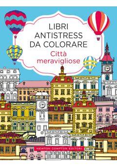 Libri antistress da colorare. Città meravigliose