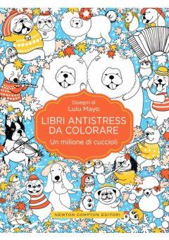 Libri antistress da colorare. Un milione di cuccioli