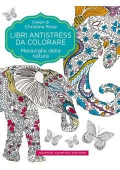 Libri antistress da colorare. Meraviglie della natura